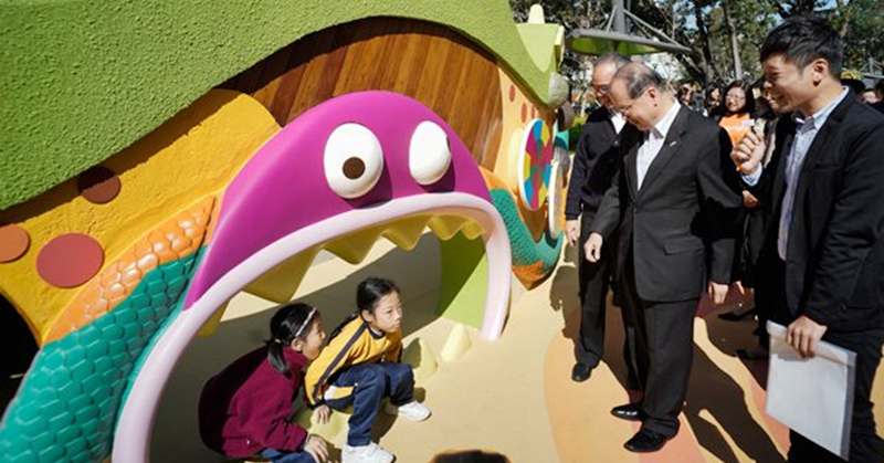 Bring the Kids out to Play in this 'Inclusive' Playground in Hong Kong