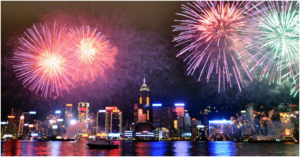 Lunar New Year Fireworks Set to Light up HK Night Sky on Feb 6
