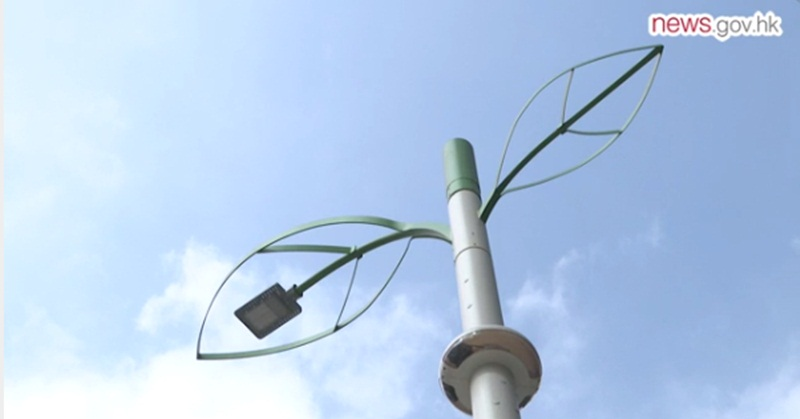 Hong Kong's Smart Lampposts Functions Highlighted