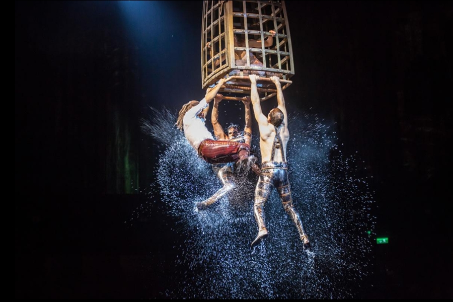House Of Dancing Water Cage